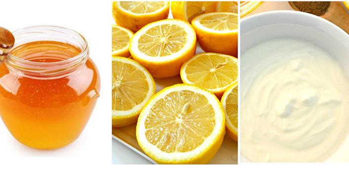 Honey, Yogurt, And Lemon Mask