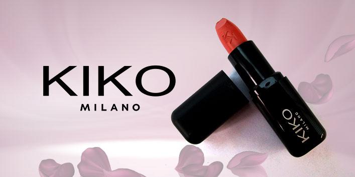 Kiko Milano Smart Fusion Lipstick - 404 Rosy Biscuit; Rs 390