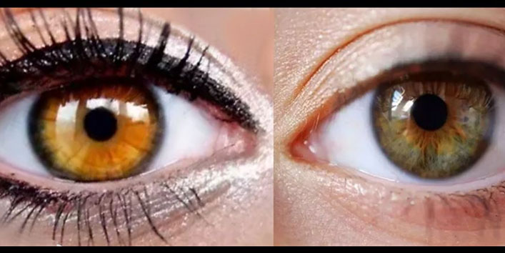 Difference Between Amber and Hazel Eyes