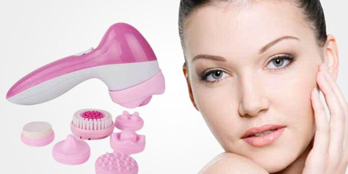 Use a cleansing brush