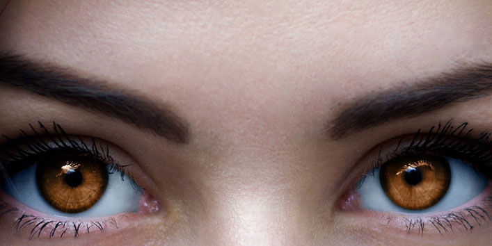 What Causes Amber Eyes?