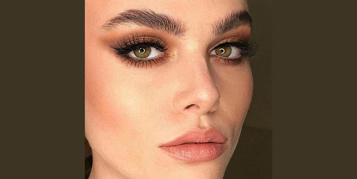 Go for dewy makeup look