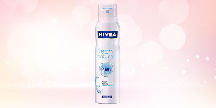 Nivea Fresh Natural Spray