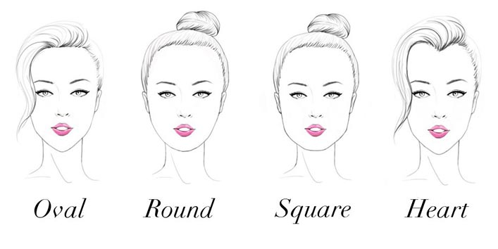What are the different face shapes